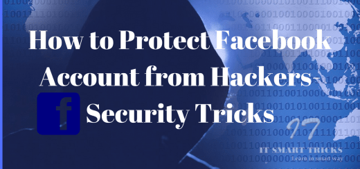 How to Protect Facebook Account from Hackers-Security Tricks