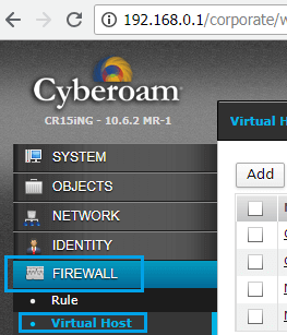Step By Step Cyberoam Firewall Port Forwarding For Hikvision NVR
