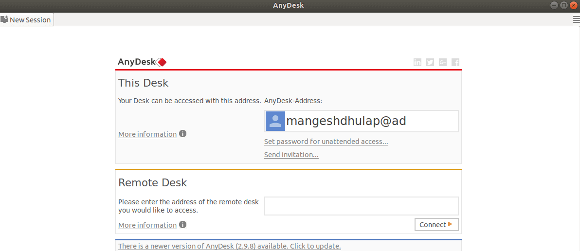 How To Install Anydesk Remote Desktop Application In Ubuntu 18 04 1