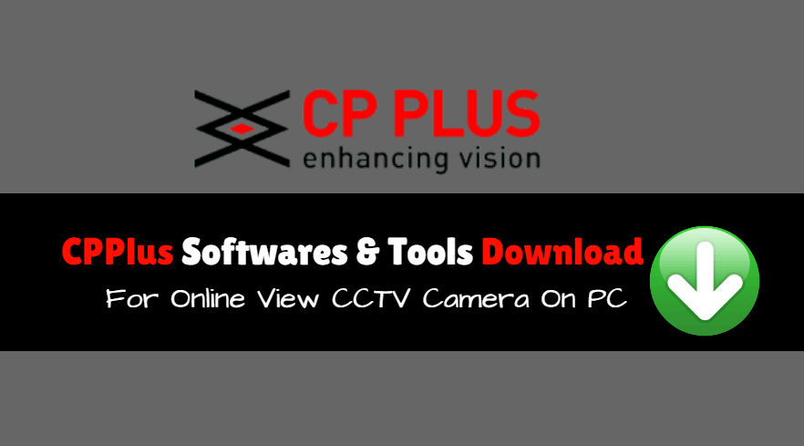 cp plus camera software free download for pc