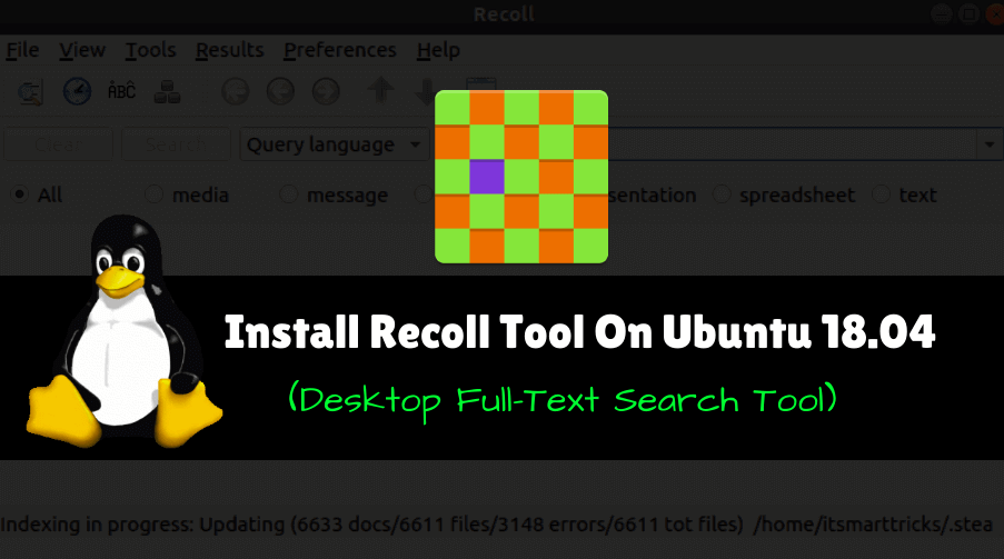 Install Recoll Tool (Desktop Full-Text Search Tool) On