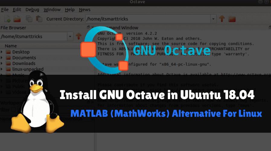 Install GNU Octave in Ubuntu 18 04 - MATLAB Alternative For