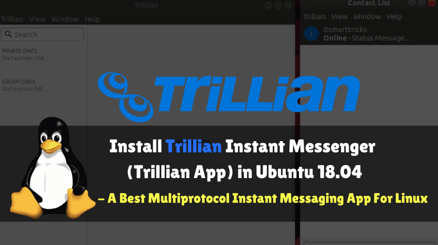 How to install Trillian Instant Messenger (Trillian App) in