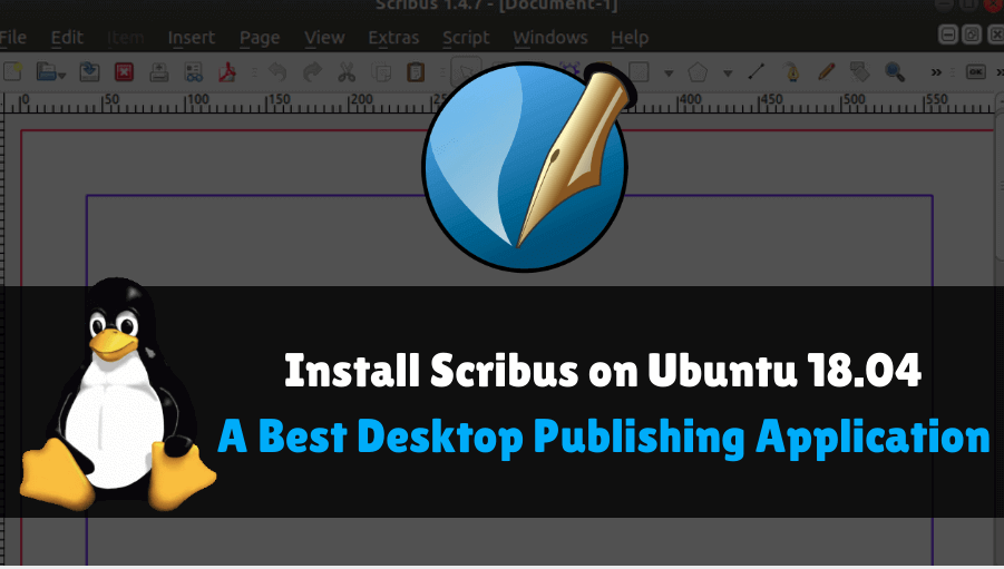 Install Scribus on Ubuntu 18 04 - A Best Desktop Publishing