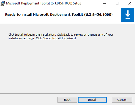 Configure MDT Server (Microsoft Deployment Toolkit) on windows