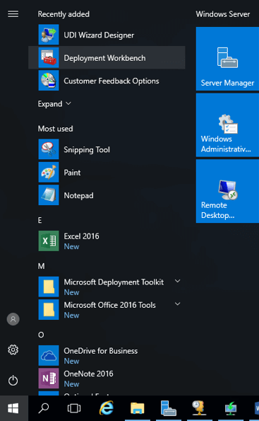 Configure MDT Server (Microsoft Deployment Toolkit) on windows